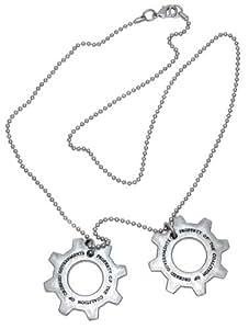 Gears of War 3 Distressed Metal Replica Cog Tags