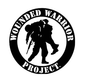 Amazon Com Wounded Warrior Project 4 Quot Black Amp White