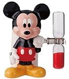 ミッキーマウス 3分砂時計付きハブラシ立て SAN1813