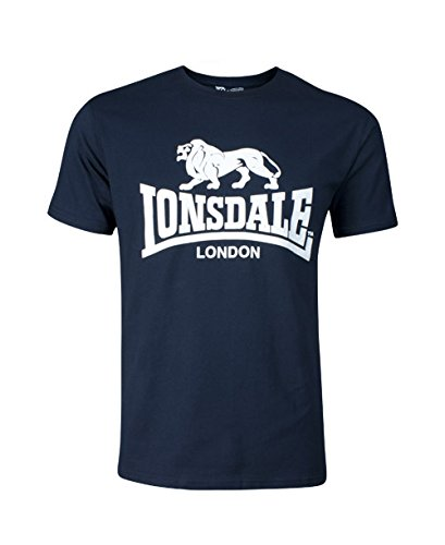 Lonsdale T-Shirt Logo Blu Navy XL (UK L)