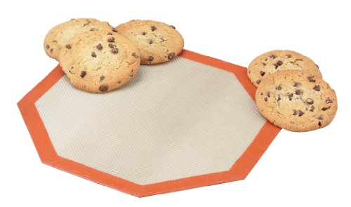 10 25 Diameter Octagon Silicone Microwave Baking Mat