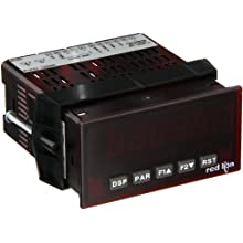 Red Lion PAX Preset Timer with Output Option Card Capability, 6 Digit LED Display, 24 VDC