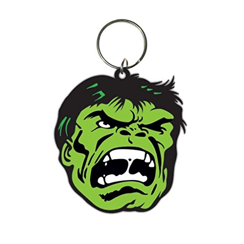 Pyramid International - Marvel Comics Portachiavi Di Gomma Hulk 6 Cm