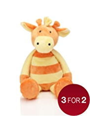 Stripy Giraffe Soft Toy