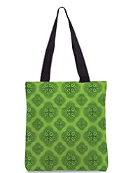 Snoogg Life Symptoms Green Trees Poly Canvas Tote Bag