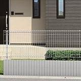 三協アルミ メッシュフェンスJE型 本体 H=1000 JE1-2010-■ 【スチールフェンス 柵】  アーバングレー