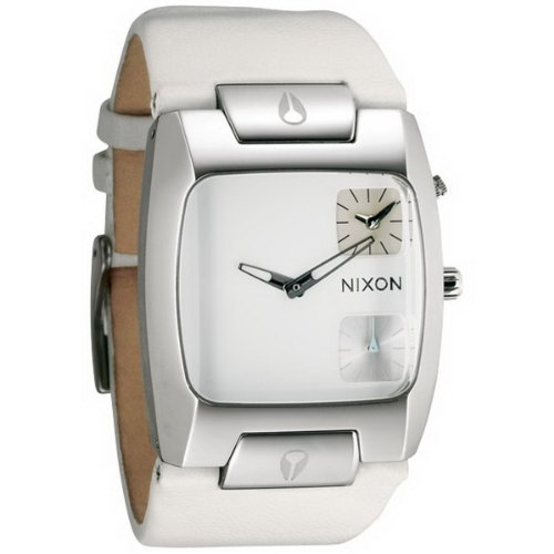 nixon-banks-leather-watch-one-size-white-dial-white-strap