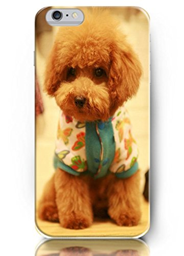 Ouo New Unique Vintage Cartoon Anime Design Hard Cover 4.7 Inch Iphone 6 Case Dog In Beautiful Cloth