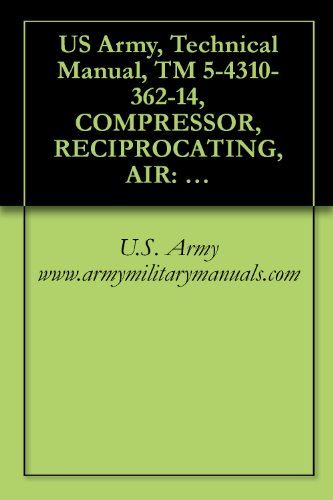 Us Army, Technical Manual, Tm 5-4310-362-14, Compressor, Reciprocating, Air: Electric Motor 5 Cfm, 175 Psi, Model 20-904, (Nsn 4310-01-064-2386), And Model ... Military Manauals, Special Forces