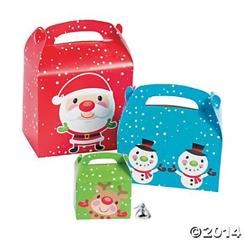 Jumbo Christmas Treat Box Assortment - 1