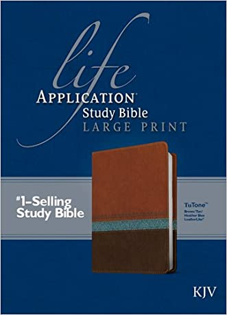 Life Application Study Bible KJV, Large Print written by Tyndale