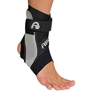 Aircast A60 Ankle Support - Black, Right, Medium by Aircast