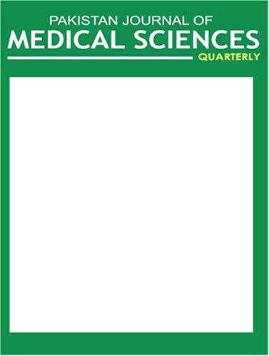 Pakistan Journal of Medical Sciences