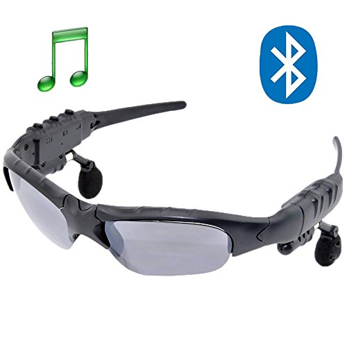 Eadory New Wireless Bluetooth Sunglasses Headset Headphones For Samsung Galaxy S4 S3 S2 Note 2 Note1