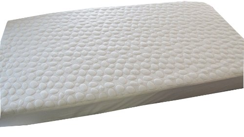 My Little Nest Pebbletex Quilted Cotton Waterproof Crib Mattress Pad