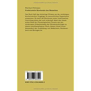 Funktionelle Biochemie des Menschen: Bd. 1 U. Bd. 2 (Reihe Wissenschaft) (German Edition)
