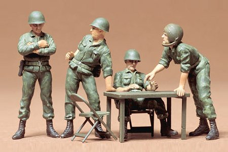 Tamiya 35079 1/35 US Command Figure Set - 1