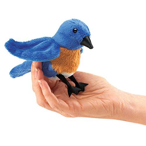 Folkmanis-Mini-Bluebird-Finger-Puppet