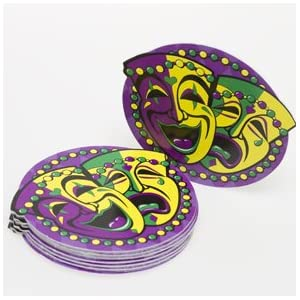 Click to buy Mardi Gras Drink Coastersfrom Amazon!