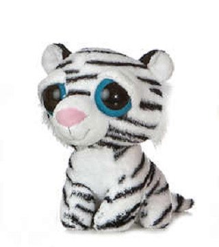 "Dreamy Eyes White Tiger 5"" by Aurora"