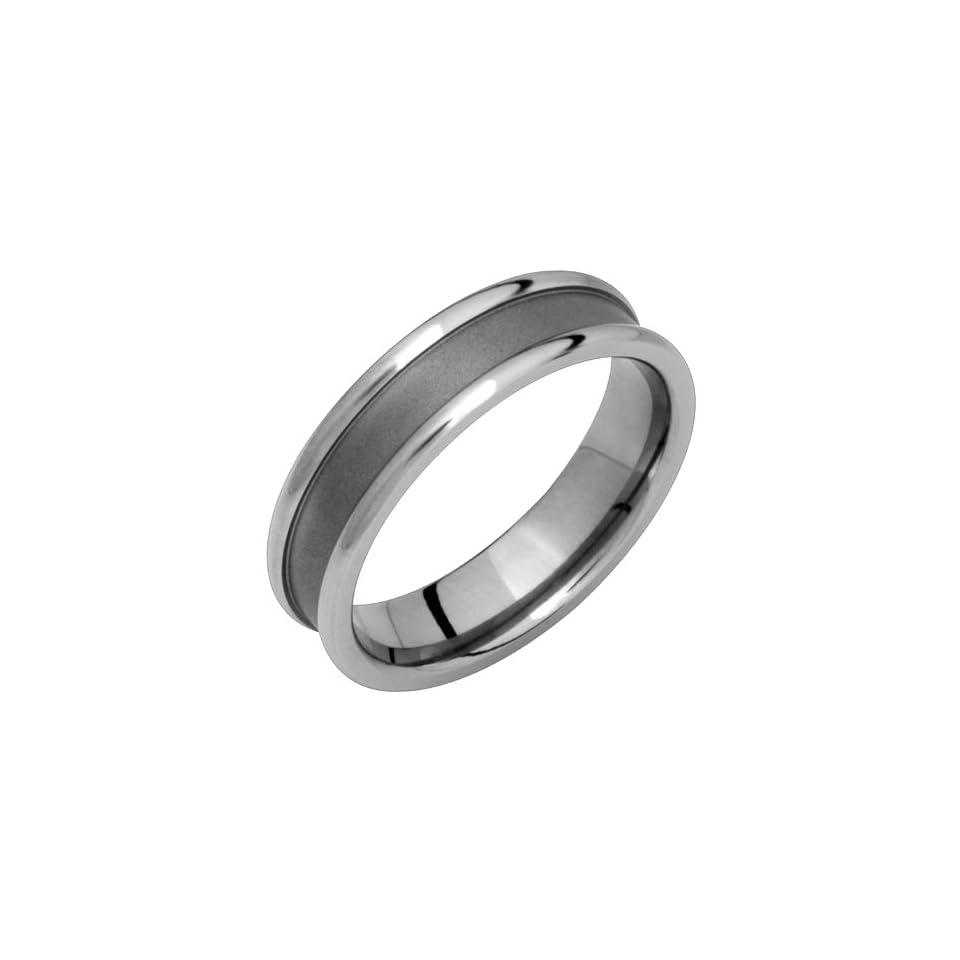 Klum   Unique Design Classic Titanium Ring, Custom Made for Him & Her