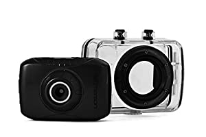 Emerson EVC355BK HD Sport Action Video Camera Kit With 1.77 LCD