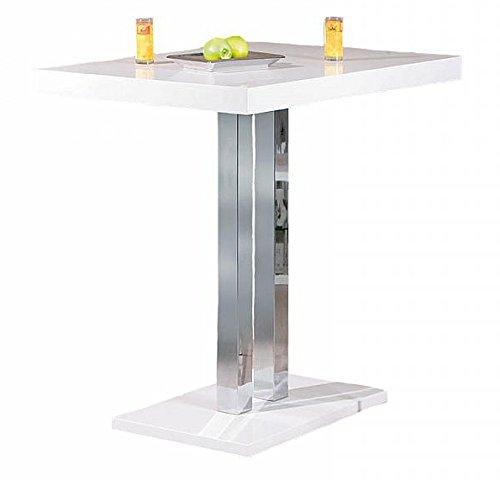 Bartisch-Hochglanz-wei-Metallgestell-Hhe-110-cm-Tisch-Bar-Tresen-Esstisch-Imbiss-Stehtisch-gnstig