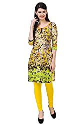 Kurti Collection ,100% pure cotton digitally printed abstract pattern ethnic kurti fabric material (Unstitched)
