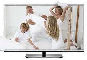 Toshiba 40TL933G 101,6 cm (40 Zoll) 3D LED-Backlight-Fernseher (Full-HD, 200Hz AMR, DVB-T/C, CI+, DLNA, Web-TV) silber
