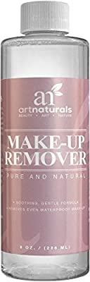 Art Naturals® Makeup Remover Oil free 8.0 oz - Natural Cleansing cosmetics and makeup remover