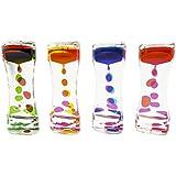Liquid Motion Bubbler for Sensory Play, Fidget Toy, Children Activity, Desk Top. Assorted Colors by Super Z Outlet®