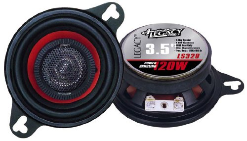 Legacy LS328 3.5-Inch 120 Watt TwoWay Speakers