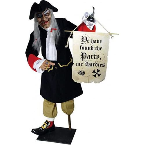 Amazon.com: Life Size Free Standing Pirate Host Halloween prop