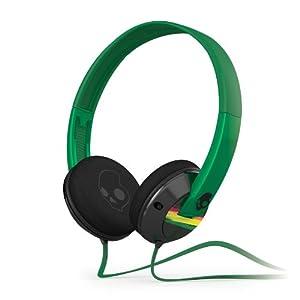 Skullcandy Uprock 2.0 On-Ear Headphones - Black/Rasta