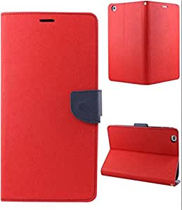 Mercury Flip Cover for MICROMAX CANVAS 2 A110 Red
