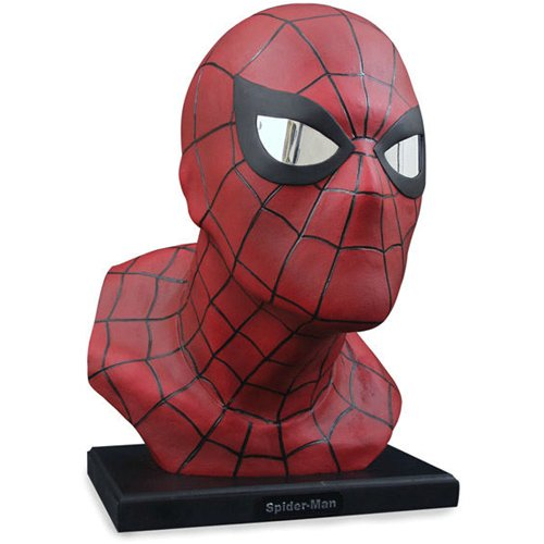 Alex Ross Spider-Man Head Mini-Bust Limited to 5000 - Buy Alex Ross Spider-Man Head Mini-Bust Limited to 5000 - Purchase Alex Ross Spider-Man Head Mini-Bust Limited to 5000 (Diamond Select, Toys & Games,Categories,Action Figures,Statues Maquettes & Busts)