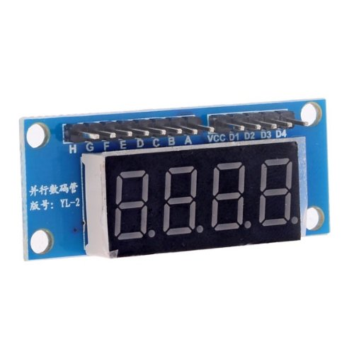 4 Digit Led Display Module 8550 Parallel Triodes Drivingby Molona