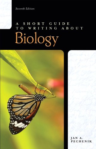 A Short Guide to Writing about Biology (7th Edition)
