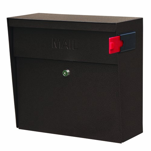 Mail Boss 7164 Metro Locking Wall Mount Mailbox