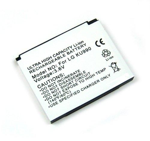 Onni-Tec Akku LG KU990 Viewty / KC910 / HB620T Li-Ion