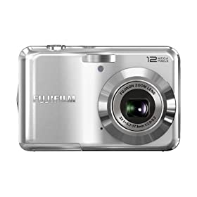 Fujifilm FinePix AV100 12 MP Digital Camera with 3x Optical Zoom and 2.7-Inch LCD (Silver)