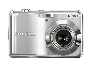 Fujifilm FinePix AV100 12 MP Digital Camera with 3x Optical Zoom and 2.7-Inch LCD (Silver)