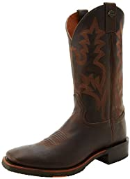 Harley-Davidson Men\'s Stockwell Motorcycle Western Boot, Brown, 12 M US