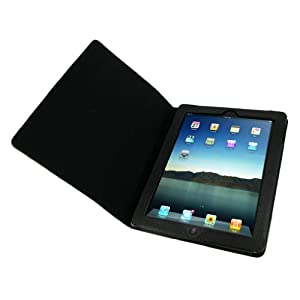 rooCASE Dual Station for iPad 2 - Black