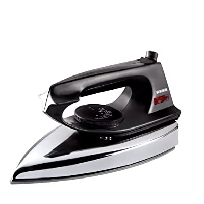 Usha Electric EI 2802 1000-Watt Dry Iron (Black)
