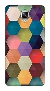 ONE PLUS 3 DESIGNER HARD PLASTIC (MATT FINISH) BACK COVER FROM CUSTOMIZE GURU