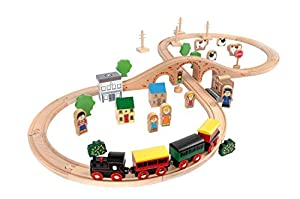 aldi wooden train set instructions