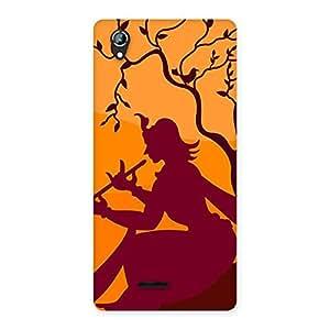 Art Of Krishna Back Case Cover for Lava Iris 800