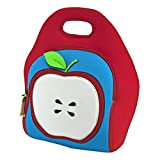 Dabbawalla Bags Apple Of My Eye Kids & Adults Insulated Washable & Eco-Friendly Lunch Bag Tote Red/B