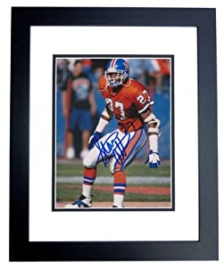 Steve Atwater Autographed Hand Signed Denver Broncos 8x10 THROWBACK Photo - BLACK... by Real Deal Memorabilia